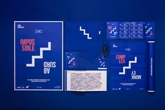 Love this identity by Cato Brand Partners for The International Design Forum by agIdeas, which was rebranded as Look Upstairs this year. Event Branding, Branding Design, Logo Design, Visual Identity, Brand Identity, Corporate Identity, Grid, Brand Guidelines, Showcase Design