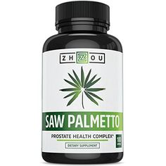 Saw Palmetto Supplement For Prostate Health  Extract  Berry Powder Complex To Promote Healthy Urination Frequency  Flow  May Help Naturally Block DHT  500mg Capsules ** Click on the image for additional details.
