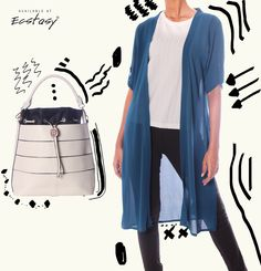 Trendy Shrugs And Bucket Bags To Jazz Up Your Days!