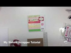 Pocket Page Mini Album Tutorial Series – Part 1