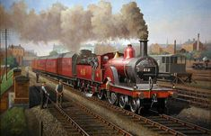 Midland Railway's Derby » Transport Artist