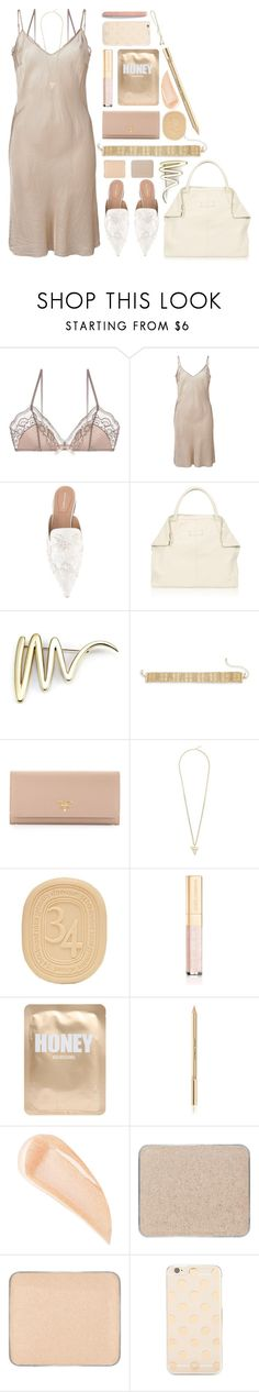 """""""nude slip"""" by foundlostme ❤ liked on Polyvore featuring Organic by John Patrick, Alberta Ferretti, Alexander McQueen, Tiffany & Co., Natasha, Prada, Givenchy, Diptyque, Dolce&Gabbana and Lapcos"""