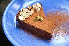 Cardamom Chocolate Mousse Cake: A Healthy Chocolate Cake Recipe