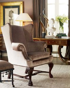Baker furniture urban gentleman chic chair pinterest for Affordable furniture in baker