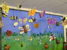Minibeast Display, classroom displays, class display, Minibeasts, minibeast, bugs, growth, bugs, butterfly, Early Years (EYFS), KS1 & KS2 Primary Resources