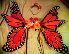 monarch butterfly costumes for adults | Large Handmade Monarch Butterfly Costume Wings | Accessories | Gumtree ...