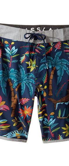 VISSLA Kids Bocca De Tiburon Four-Way Stretch Boardshorts 17 (Big Kids) (Dark Navy) Boy's Swimwear - VISSLA Kids, Bocca De Tiburon Four-Way Stretch Boardshorts 17 (Big Kids), B111CBOC-DKN, Apparel Bottom Swimwear, Swimwear, Bottom, Apparel, Clothes Clothing, Gift - Outfit Ideas And Street Style 2017