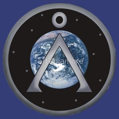 Stargate Spaceship Wall Decal Poster 3D Art Sticker Vinyl Space Sci Fi Portal
