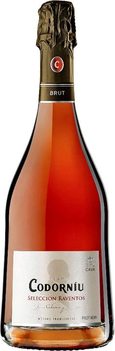 """""""Selección Raventos Rosé"""" Pinot noir / Macabeo / Xarel-lo / Parellada NV Cava brut - Bodega Codorniú, San Sadurní de Noya, Cataluña, España ---------------- Terroir: D.O. Cava - Cataluña, España ------------------ Método champenoise"""