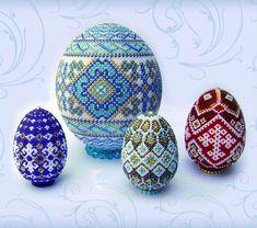 Beautiful beaded Easter Eggs   Beads Magic