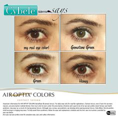 Stunning eye color can now be comfortable too! Read all about how blogger, Cybele from Cybele Says was able to enhance her look with AIR OPTIX® COLORS contact lenses.