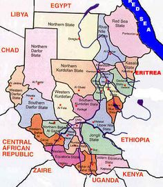 States in Sudan I lived 4 years in Khartoum