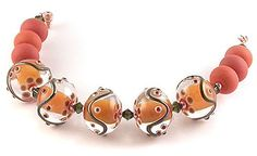 EJR Beads - Lampwork Glass, Polymer Clay and Ceramic SRA Beads, handmade in the UK