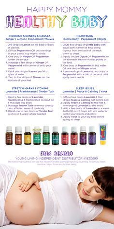Young Living Essential Oils: Happy Mommy Healthy Baby | For more information or to order, come visit: http://www.EssentialOilsObsessed.com