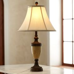 Crackle Glass Table Lamp - jcpenney