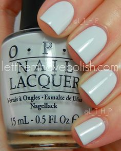 Now wearing: My Boyfriend Scales the Walls, OPI Spiderman Collection. Not a straight white, a slight hint of gray.
