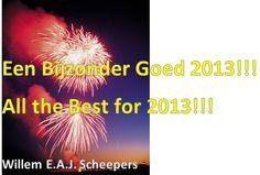 Om het jaar 2012 af te sluiten en het jaar 2013 goed te kunnen beginnen, een korte entry met gratis(!) e-boek uit de IiP-serie. (klik op de pin)  Ik wens je, samen met degenen die je lief zijn, een Bijzonder Goed 2013!  Hartelijke groet, Willem Scheepers