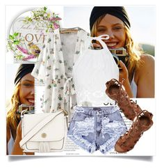 """""""Summer Love"""" by lidia-solymosi ❤ liked on Polyvore featuring Miguelina, O'Neill and Tory Burch"""