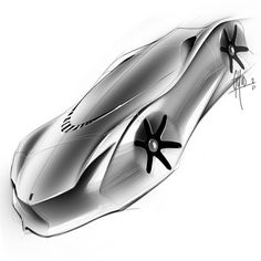 Collection of Forms 2011 by George Yoo at Coroflot.com Industrial design digital sketches car renders, idea sketches, automotive renderings from a designer sketchbook, fluid and speed form studies, black and white, cool gray, neutral gray hand rendering using wacom tablet.