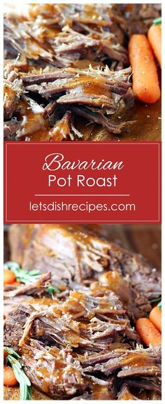 Slow Cooker Bavarian Pot Roast