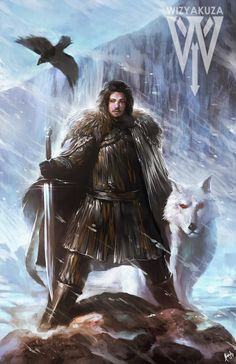 John Snow by Wizyakuza