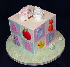baby cake building block...
