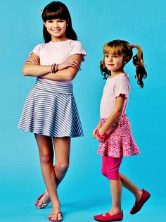 Little Girls' Skort Pattern Girls' Pull-on Skort by blue510
