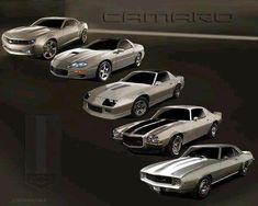 camaro generations