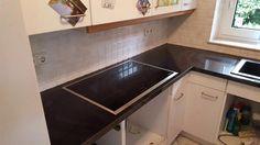 Aufmaß, Lieferung und Montage der #Granit #Arbeitsplatte, Material Nero Devil Black in 4 cm Stärke inkl. Kantenbearbeitung.  http://www.maasgmbh.com/aktuelle-bremen-nero-devil-black-granit-arbeitsplatten-bremen-nero-devil-black