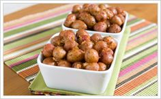 Red Hot Potatoes with Bacon - Love these! I use Tom Douglas' BBQ Rub with Love for the BBQ seasoning, and add a drop of liquid smoke to the sauce.