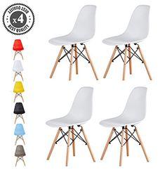 Hervorragend Set Of 4 Modern Design Dining Chair Eiffel Retro Lounge C... Https: