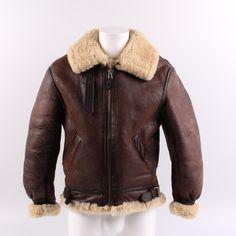 Pánská bunda letecká Avirex LTD. hnědá Bomber Jacket, Leather Jacket, Retro, Jackets, Fashion, Studded Leather Jacket, Down Jackets, Moda, Leather Jackets