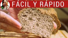 Pan casero de lino: SIN harina, sin gluten ¡y adelgaza!. Una receta de p...