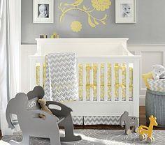 Love the gray & yellow