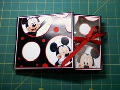 Disney gate fold paper bag album (photos only); use tutorial here: followingthepapertrail.blogspot.com
