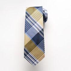 Chaps Abbotsford Plaid Tie - Men