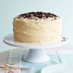 Intensely rich coconut and chocolate layer cake Delicious Cake Recipes, Best Cake Recipes, My Best Recipe, Lemon Recipes, Chocolate Icing, Melting Chocolate, Coconut Chocolate, Chocolate Recipes, Occasion Cakes