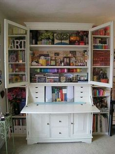 ART armoire...I want one