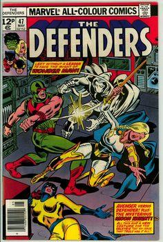 Defenders 47 (FN/VF 7.0) pence