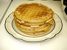 Waffle House Waffles Recipe...it will be worth a try...long ago, a waitress there told me the secret was half and half in the batter
