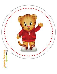 Free Daniel Tiger Birthday Party Decor Printables See More