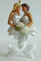 Lesbian Bride Mermaids. Awesome.