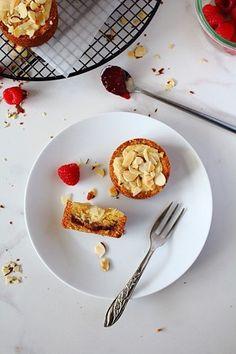Paleo Raspberry Bakewell Tarts