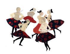 Julie Morstad, image of Hungarian Dancers
