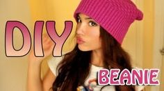 Simplest beanie DIY ever in my life. i want to make fifty hundred.