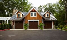 Need I say more except designed by TR Building & Remodeling Inc. Traditional Garage And Shed design by New York Design-build TR Building & Remodeling Inc. Traditional Garage And Shed design by New York Design-build TR[. Design Garage, Shed Design, Home Design, Design Ideas, Building A Shed, Building Design, Ajout D'un Garage, Garage With Living Quarters, Plan Garage
