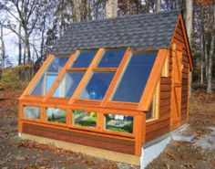 green house / potting shed
