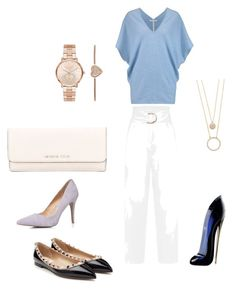 """Sin título #16"" by sil-mena on Polyvore featuring moda, Duffy, Valentino, Dorothy Perkins, MICHAEL Michael Kors, Carolina Herrera, Kate Spade y Michael Kors"