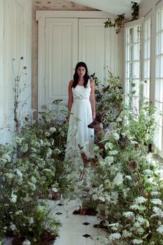 Just beautiful girl in floral. plus this site has some nice ramblings.