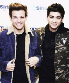 Louis and Zayn <3 They both look soo adorable